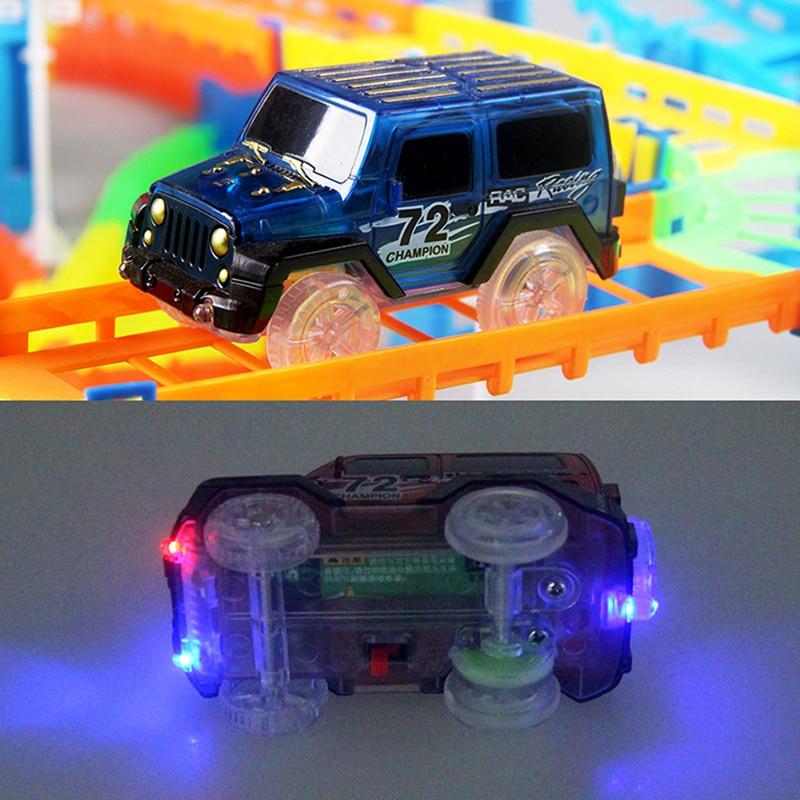 Eisenbahn Rennstrecke Spiel Set pädagogische DIY Biegung flexible - Druckguss- und Spielzeugfahrzeuge - Foto 6