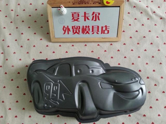 McQueen car cake mold Cars series of creative birthday cake fondant