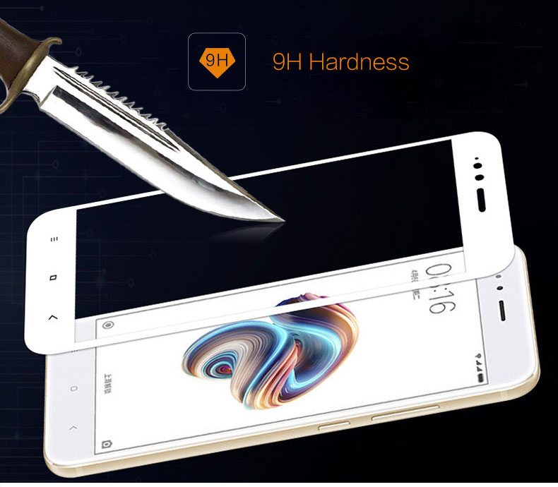 Tempered Glass MI A1 9H Hardness