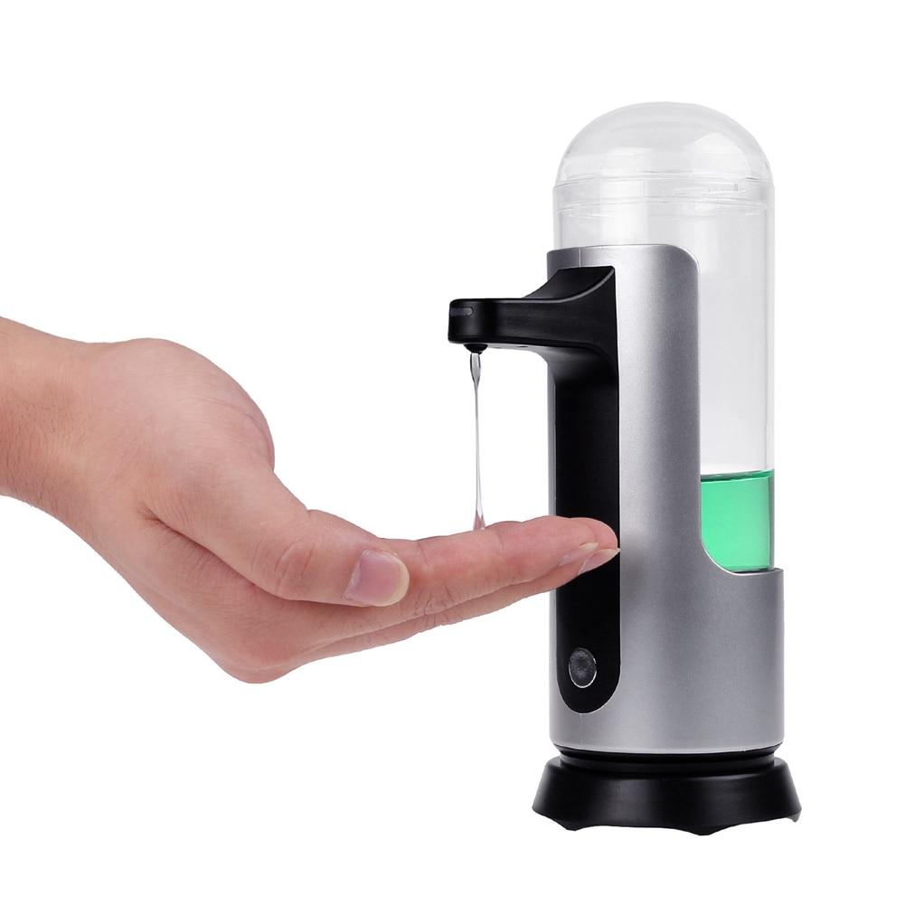 300ml automatic soap dispenser touchfree ir sensor liquid soap dispenser bathroom kitchen accessories - Touchless Soap Dispenser