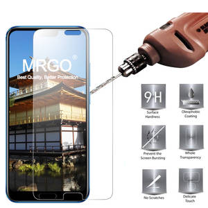 MRGO Tempered Glass For Huawei Honor 10 Screen Protector 9 H 2.5D Phone On Protective