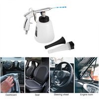 Gunwith foam bottle car outdoor washing clean high pressure car car interior clean air pulse washing spray gun