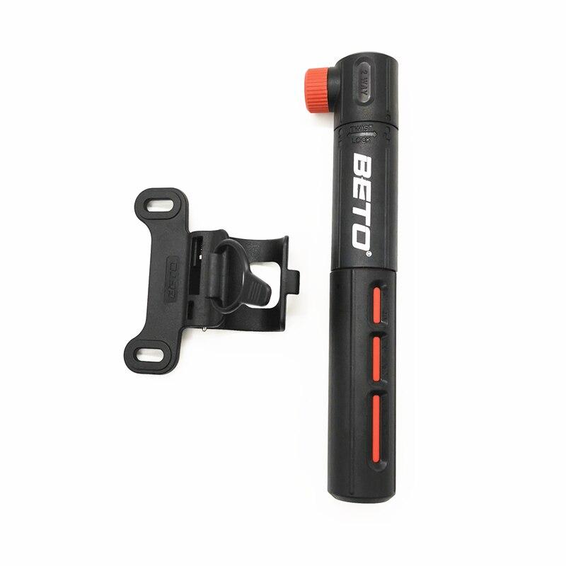 Mini Pump Bike Pump Twist Lock Dual Valve Beto