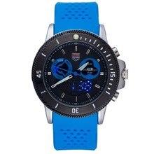 2016 TVG Marca Deportes Relojes de Cuarzo Multifunción Reloj Estudiante Amantes de la Correa de Silicona Relojes de Pulsera Multicolor Opcional