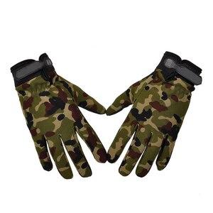 Тактические перчатки, противоскользящие армейские военные велосипедные страйкбольные мотоциклетные перчатки для пейнтбола