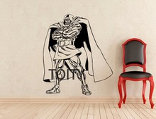Doctor Doom Wall Decal Superhero Vinyl Sticker Marvel Comics Poster Home  Interior Mural Art Decoration Part 88