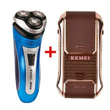 Rechargeable Electric Shaver 3D Triple Floating Blade Heads Shaving Razors Men Beard Trimmer Electric Shaving & Hair Removal