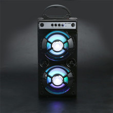 Portable Multimedia Bluetooth Wireless Portable Speaker Super Bass with USB/TF/AUX/FM Radio Free Shipping XP15M01