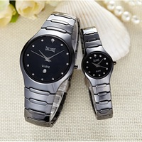 DALISHI Brand Lover's Watch Ceramic Couple Watches Women Quartz Watches Ladies Dress Watch 30M Waterproof Calendar Relogio