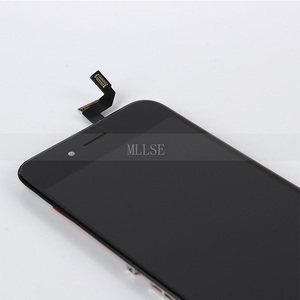 Image 5 - 10/szt. Przedni wyświetlacz dla iPhone 6 6s LCD z ekranem dotykowym z naprawa ramy wymiana zespołu Digitizer telefonu bez martwych pikseli DHL