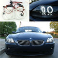 Для BMW Z4 E85 2002-2008 SCHEINWERFER Excellent led angel eyes Ultrabright освещения smd led Angel Eyes Halo Кольцо комплект