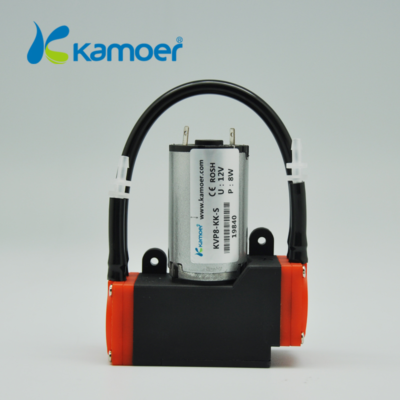 Kamoer KVP8 24v vacuum pump mini air pump with brush motor electric pump small diaphragm pump with long lifetime kamoer kvp8 24v mini vacuum pump brushless micro diaphragm pump electric air pump with high nagative pressure vacuum degree