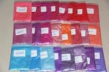 24 colores diferentes pigmento de Color de Mica cosmética. Jabón/bombas de baño/sombra de ojos/lápiz labial/MAQUILLAJE