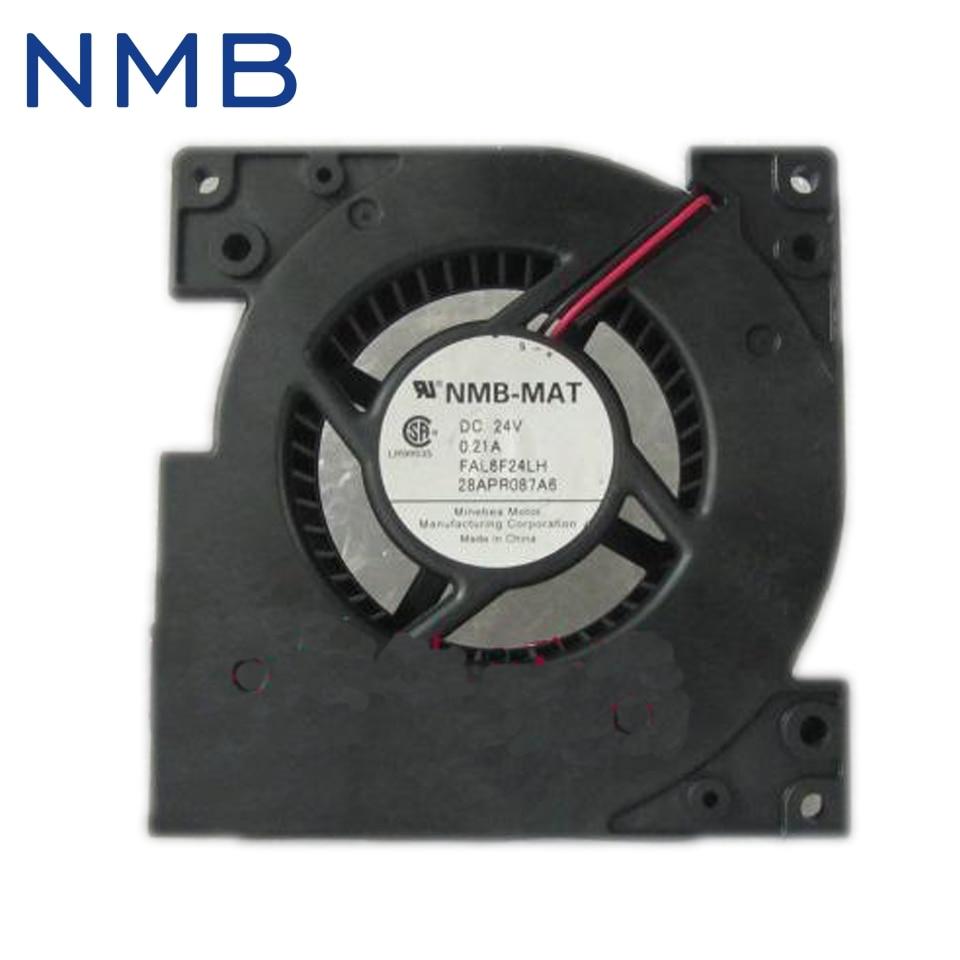 NMB-MAT FAL6F24LH FAL8F24LH DC 24V 0.21A 2-wire 120x120x25mm Server Blower Fan nmb 3610kl 05w b49 9225 24v 3 wire cooling fan blower