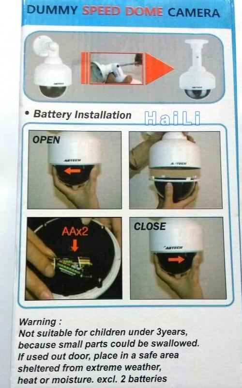Vattentät övervakning utomhus Realistisk Dummy Hem Dome Fake - Säkerhet och skydd - Foto 3