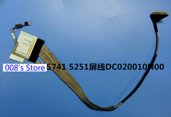 ShineBear LCD Screen Cable for Acer Aspire 5741 5742 5552 5250 5252 5253 5336 5736 5551 NEW70 LCD LVDS Cable DC020010L10 Cable Length DC020010L10