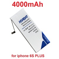 HSABAT 4000mAh Battery For Apple Iphone 6S PLUS 6sPlus 5 5 5 5 Inch