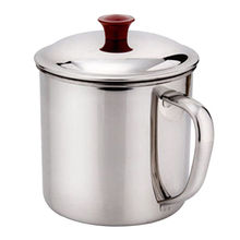 200/380ML  Portable Stainless Steel Camping Mug Cup Outdoor