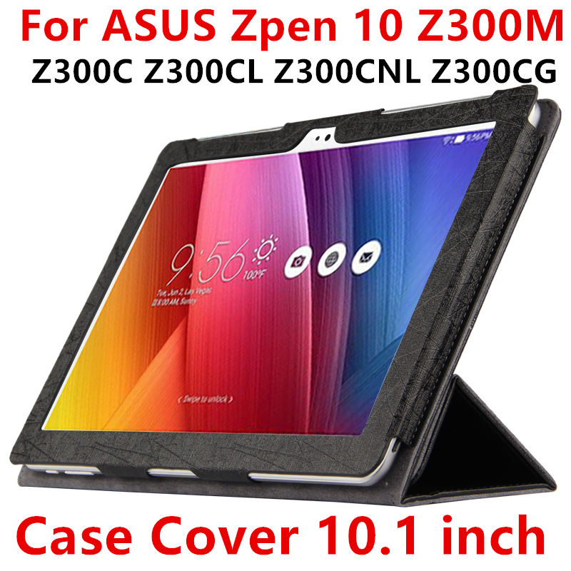 Case For ASUS ZenPad 10 Z300M Protective Smart cover Leather Tablet For Z300C Z300CL Z300CNL Z300CG 10.1inch PU Protector Sleeve