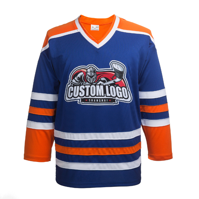 pretty nice 82f03 651a1 COLDINDOOR Free shipping high quality ice hockey sweatshirt wholesale  custom jerseys P0XX synthetic embroidery