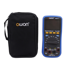 OWON B41T+ 4 1/2 Digital Multimeter With Bluetooth True RMS Backlight Test Meter victor vc8045 ii new dmm bench top multimeter meter 4 1 2 true rms multimeter dcv acv dca aca
