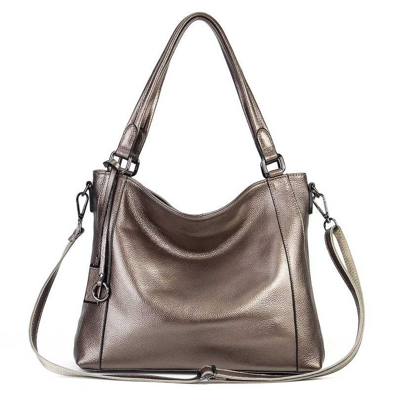 Soft 100% Genuine Cow Leather First Layer Cow Skin Women Shoulder Bags Soft Real Cowhide Cross Body Messenger Tote Handbag