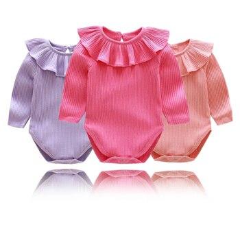 fcdddeb57 Mamelucos de bebé mono mameluco de niñas de batas de bebé Unisex de mameluco  ropa de bebé recién nacido lindo Roupa Infantil