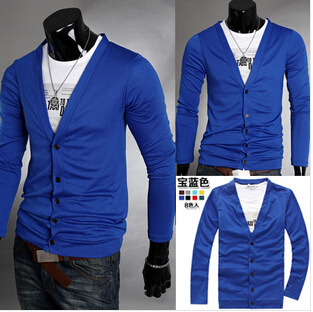 Online Shop 2014 Hot Cardigan Men Sweater Brand Long Sleeve ...