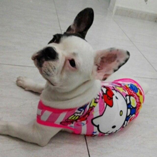 Cute Cartoon Vestiti Per Cani di Piccola Taglia Pet Dog Shirt T della camicia di