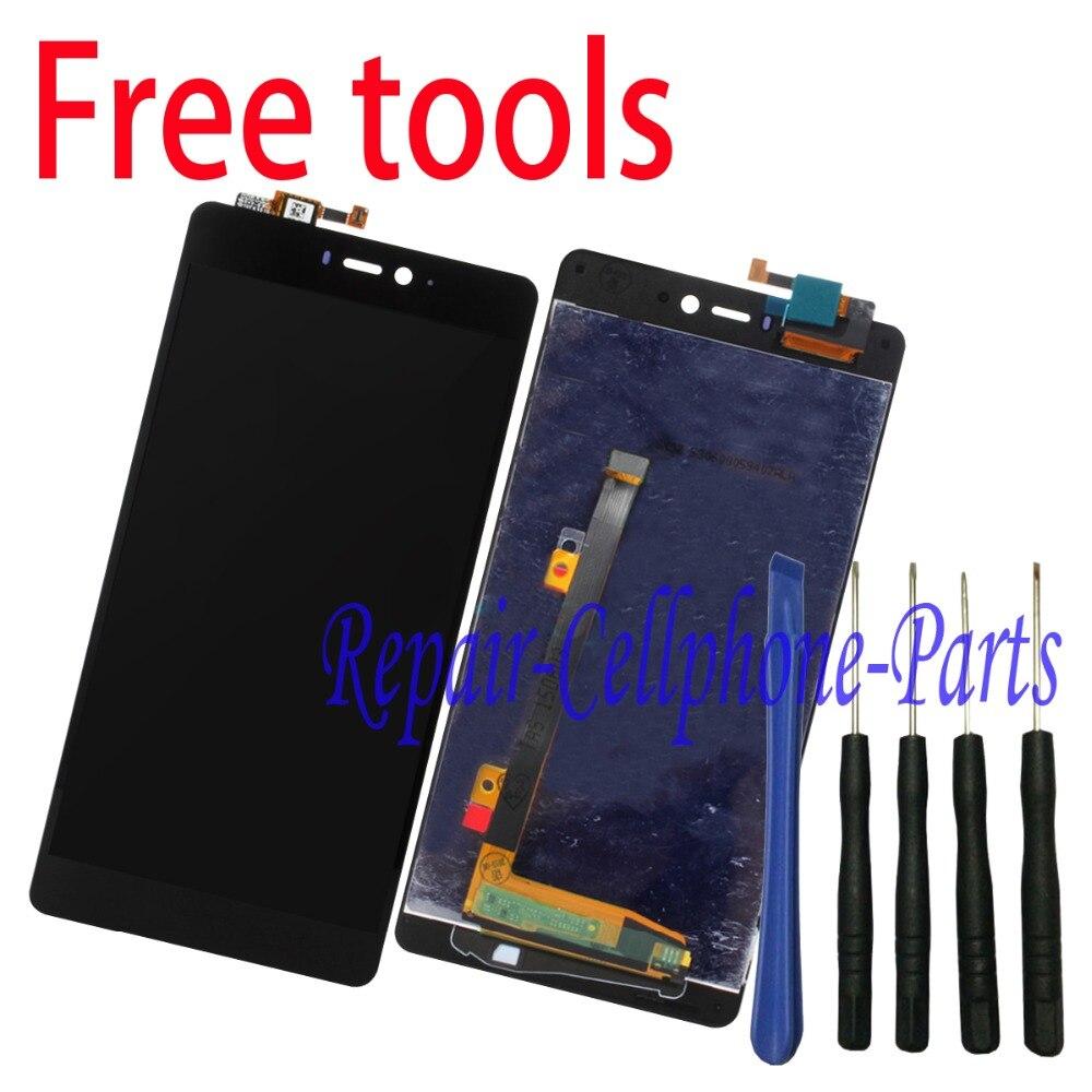 imágenes para Negro 100% Nueva pantalla LCD Full + asamblea de pantalla táctil digitalizador Para Xiaomi mi 4i mi4i + Herramientas Gratuitas