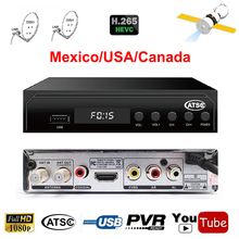 [Genuine] DVB HD Satellite Receiver 1080P DVB ATSC HD Support HD Youtube Youpron powervu For USA North American countries TV Box