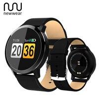 Newwear Q8 Touch Screen Smartwatch Heart Rate Smart Watch Men Women IP67 Waterproof Sport Fitness Wearable