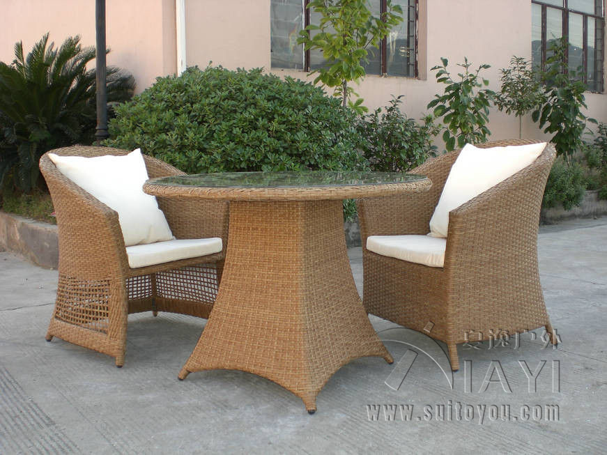 Commercial Outdoor Dining Furniture 3-pcs-comfortable-fashion-rattan-garden-font-b-dining-b-font-sets -for-font-b-commercial