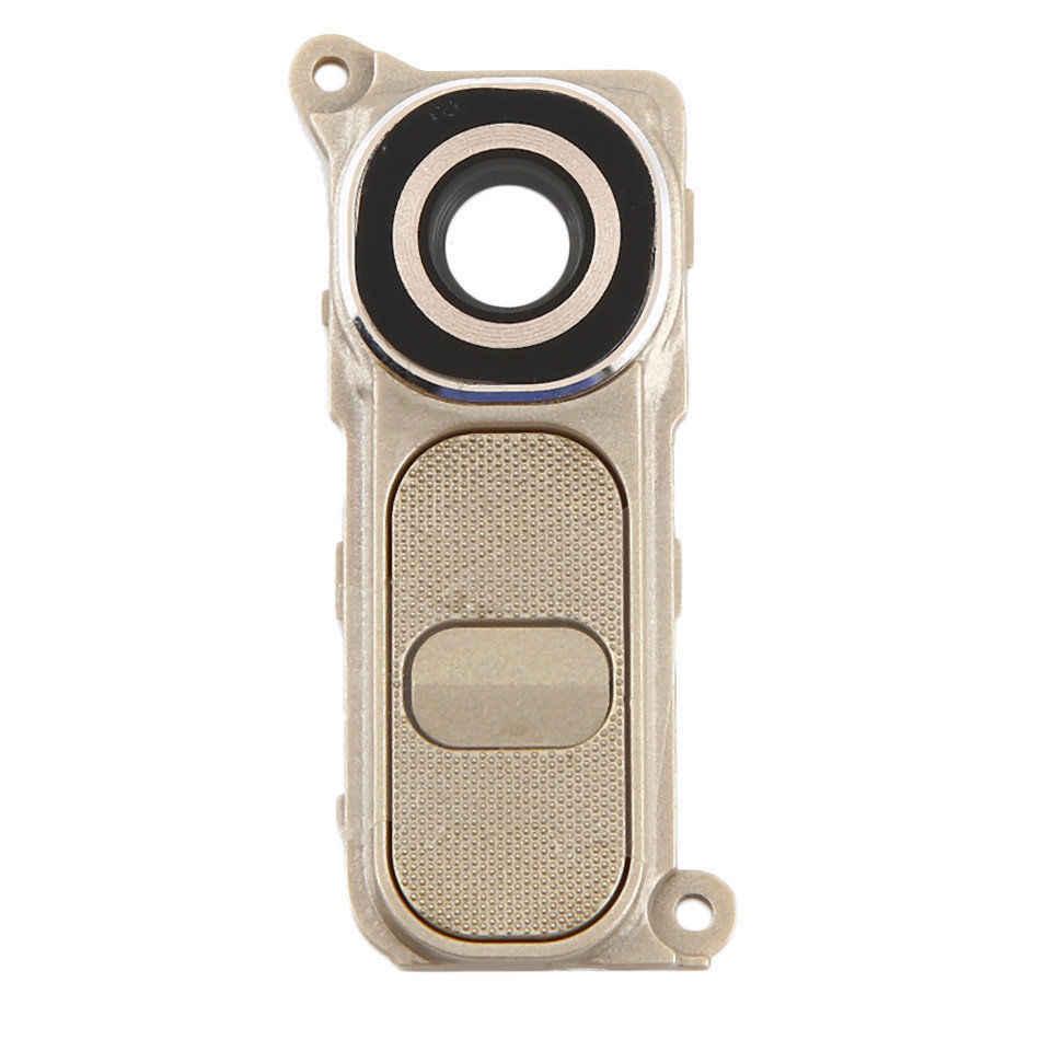 LG G4 H810 H811 H815 VS986 LS991 F500L Beyaz/Siyah/Altın Rengi Arka Kamera lens kapağı Halkası güç Tuşu Düğmesi