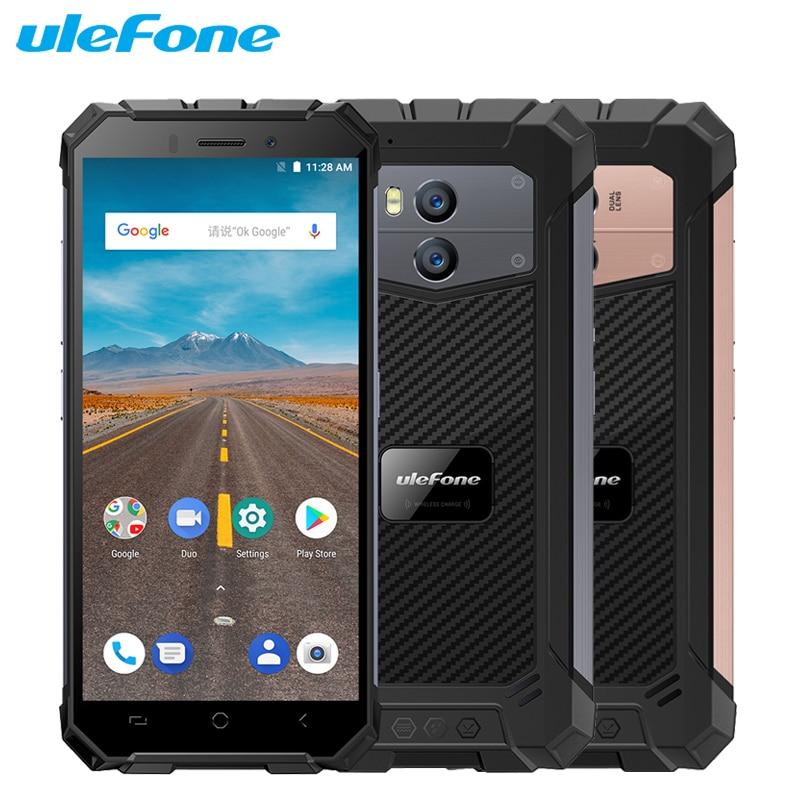 Ulefone Armor X Waterproof IP68 5.5inch 2GB RAM 16GB ROM MTK6739 Quad Core Android 8.1 Camera <font><b>13MP</b></font> 5500mAh NFC FaceID <font><b>Smartphone</b></font>