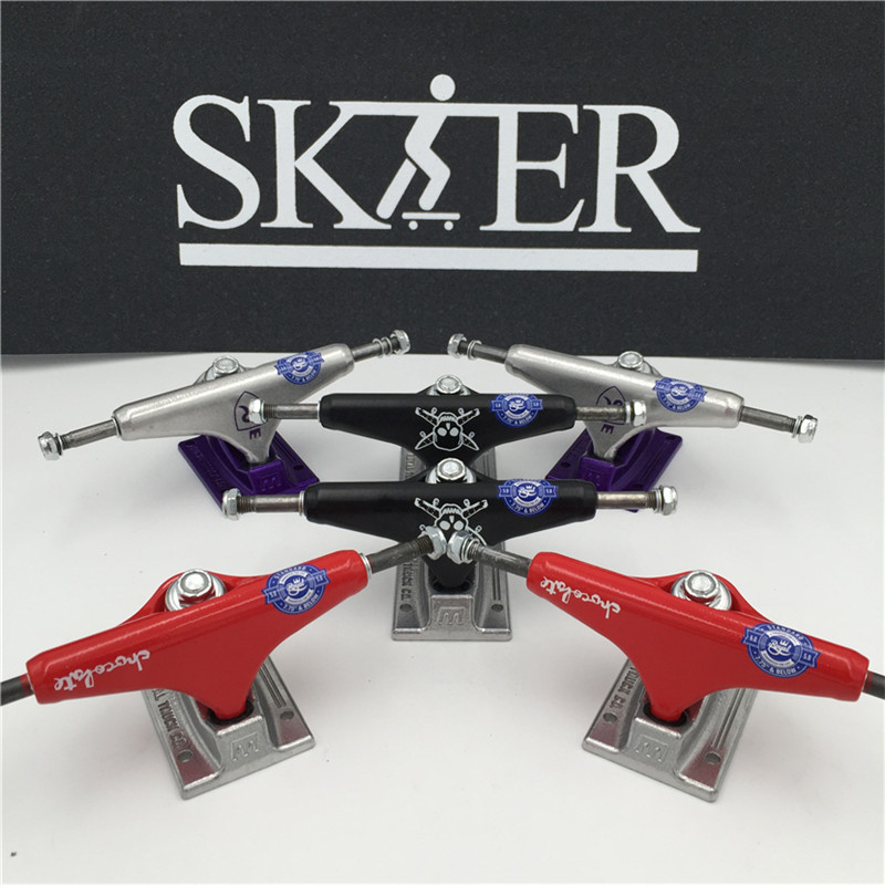 Quality Skateboard Parts Middle Hollow Type Trucks Skateboard 5.0&5.25
