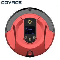 COVACE FR 802 Robot Vacuum Cleaner With Max Power Suction WIFI Connectivity Self Charging For Hard