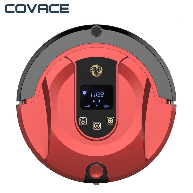Covace FR-8 Prévues Route robot aspirateur Sans Fil Cleaner wifi Auto De Charge À Laver Pour La Maison