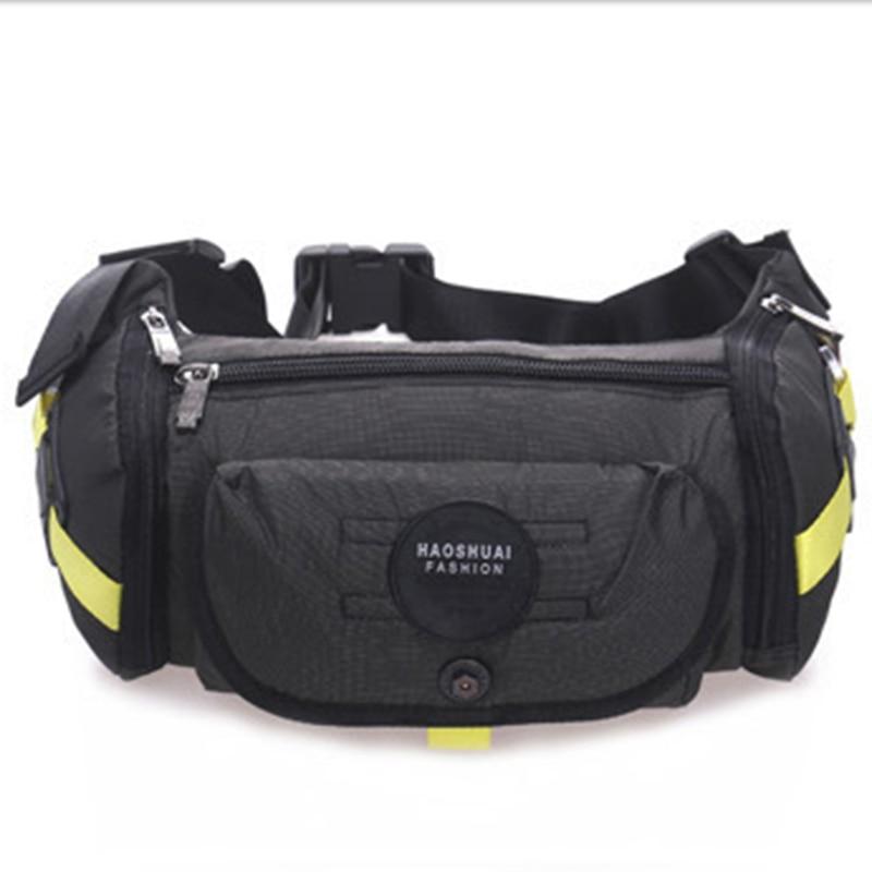 Military Nylon Waist Bags Men's Bum Hip Belt Purse Pouch Chest Day Pack Shoulder Crossbody Messenger Bag Male Travel Fanny Pack