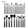 Jessup 27 pcs conjunto de pincel de maquiagem profissional definida fundação rosto eye sombra batom beauty make up brushes kit ferramentas de mistura em pó T133