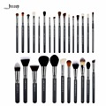 Jessup 27Pcs Set Pro Makeup Brush Set Foundation Eye Face Shadow Lipsticks Powder Blending Beauty Make Up Brushes Kit Tools T133