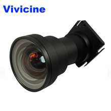 VIVICINE Ultra Short Throw Lens,Suitable For Optoma/Benq/Acer/NEC Large Venue Projectors,Short Throw Lens for Brand Projectors
