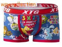2016 XTG Sexy Cartoon Comic Printing Underwear Funny Boxer Short New Arrival Cotton Panties Free Shipping