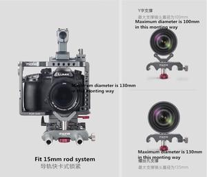 Image 5 - Tilta 15mm 렌즈 지원 LS T03 LS T05 19mm pro 렌즈는 긴 줌 렌즈 렌즈 서포터 브래킷을위한 LS T08 LS T07 지원합니다.