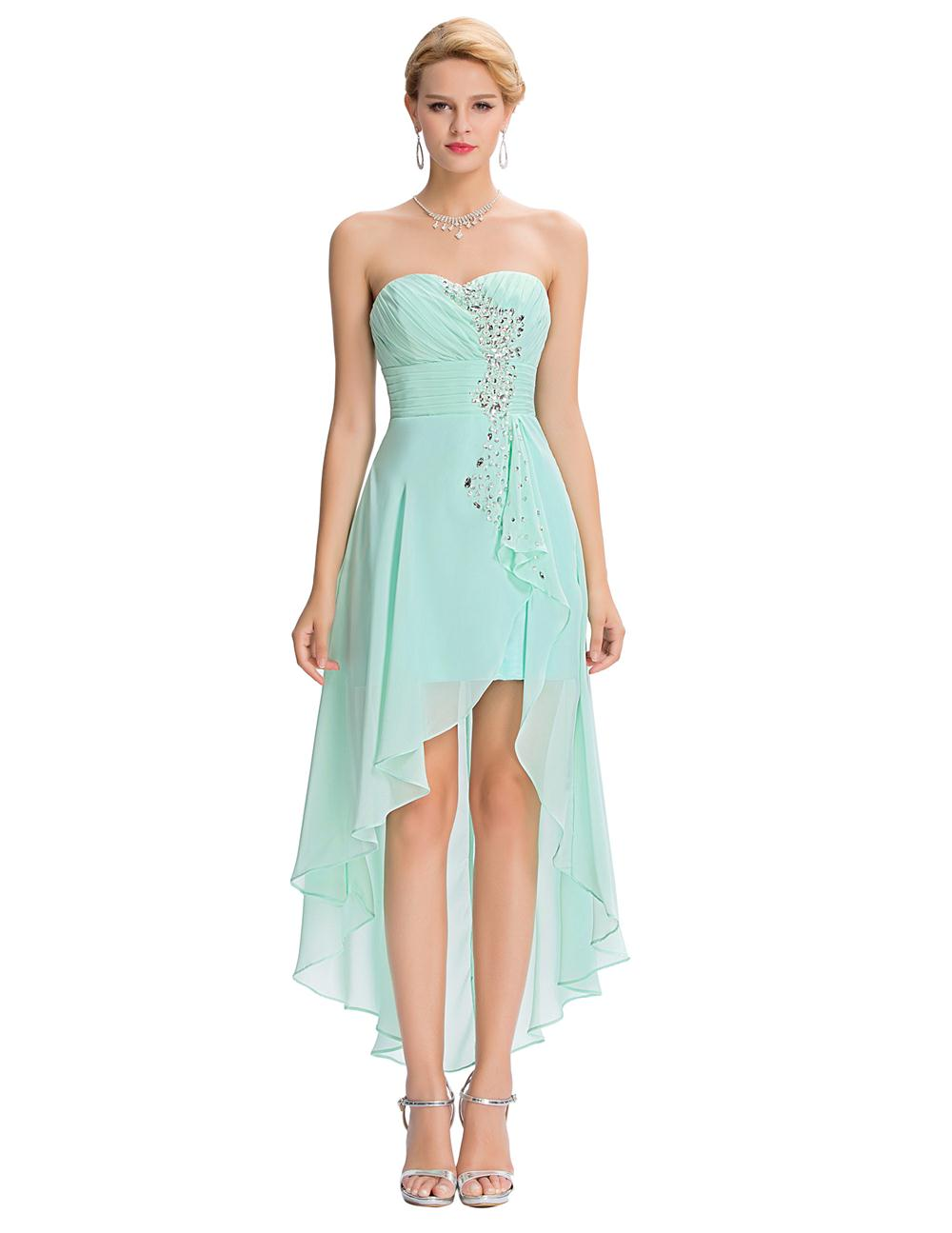 Turquise Prom Dresses Short Front Long in Back In_Prom Dresses_dressesss
