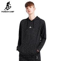 Pioneer camp new style sweatshirts hoodies men brand clothing hooded stylish sweatshirt casual quality male tracksuit AWY801048