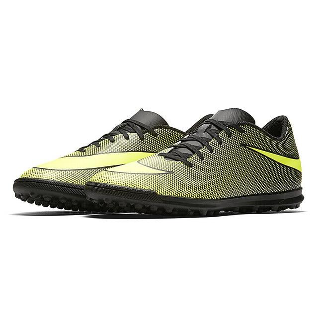 a92dde47a956b Nueva llegada original Nike auténticos bravatax II hombres fútbol  Zapatillas de Soccer sneakers transpirable deporte Zapatos hombres