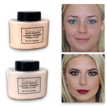Face Foundation Powder Oil Control Contour Full Cover długotrwały banan Translucent Mineral Makeup profesjonalna podstawa matowa