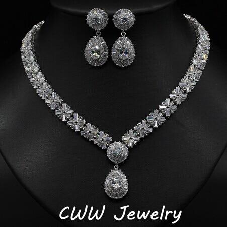 Aliexpress Com Buy Luxury White Gold Plated Elegant