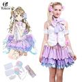 Hot japanese anime love live minami kotori cosplay white day dress